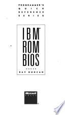 IBM ROM BIOS