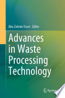 Advances in Waste Processing Technology