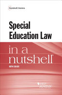 Special Education Law in a Nutshell Book