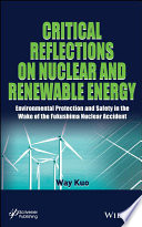 Critical Reflections on Nuclear and Renewable Energy Book