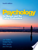 Ebook Psychology For Nurses And The Caring Professions
