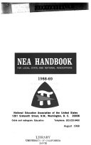 NEA Handbook for Local  State  and National Associations
