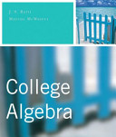 College Algebra Plus MyMathLab Student Access Kit