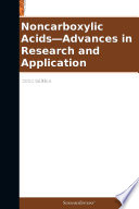 Noncarboxylic Acids   Advances in Research and Application  2012 Edition Book