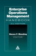Enterprise Operations Management Handbook, Second Edition Pdf/ePub eBook
