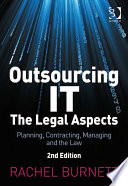 Outsourcing It The Legal Aspects