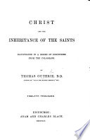 Christ and the Inheritance of the Saints Book