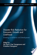 Disaster Risk Reduction For Economic Growth And Livelihood Book PDF