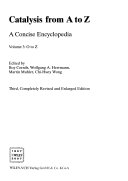 Catalysis from A to Z  O to Z