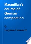 Macmillan s Course of German Composition Book