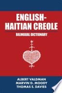 English Haitian Creole Bilingual Dictionary