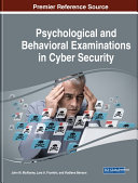 Pdf Psychological and Behavioral Examinations in Cyber Security