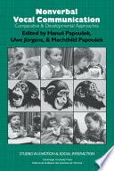 Nonverbal Vocal Communication Book PDF