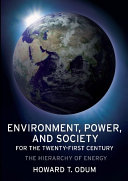 Pdf Environment, Power, and Society for the Twenty-First Century Telecharger