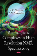Paramagnetic Complexes in High Resolution NMR Spectroscopy Book
