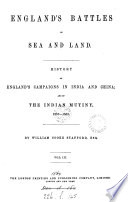 Vol 1 2  by lt  col  Williams History of the wars caused by the French revolution  Vol 3 4  by W C  Stafford History of England s campaigns in India and China  and of the Indian mutiny