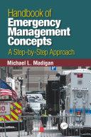 Pdf Handbook of Emergency Management Concepts Telecharger