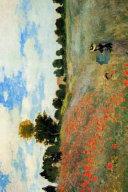 Claude Monet s the Poppy Field Near Argenteuil Art of Life Journal Book