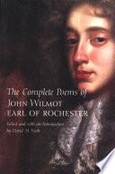 John Wilmot Books, John Wilmot poetry book