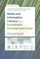 Media and Information Literacy for the Sustainable Development Goals