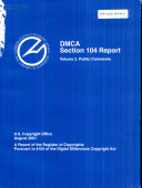 DMCA Section 104 Report
