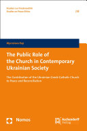 The Public Role of the Church in Contemporary Ukrainian Society