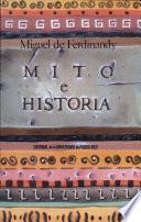 Mito e historia  : ensayos