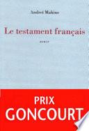 Le testament français Pdf/ePub eBook