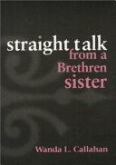 Straight Talk from a Brethren Sister Book