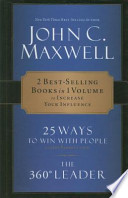 CU: Maxwell 2-in-1 25 Ways to Win with People and 360 Degree Leader