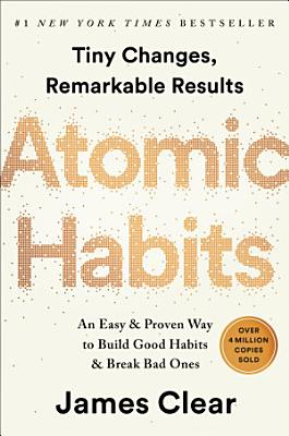 Book cover of 'Atomic Habits' by James Clear
