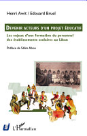 Devenir acteurs d'un projet éducatif Pdf/ePub eBook
