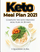 Keto Meal Plan 2021