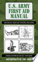 U S  Army First Aid Manual