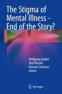 Pdf The Stigma of Mental Illness - End of the Story?