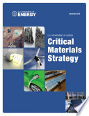 Critical Materials Strategy Book