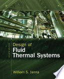 Design Of Fluid Thermal Systems Book PDF