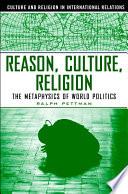 Reason  Culture  Religion