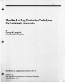 Handbook of Log Evaluation Techniques for Carbonate Reservoirs Book