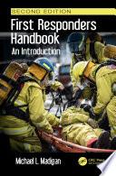 First Responders Handbook Book