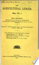 The Agricultural Ledger Book
