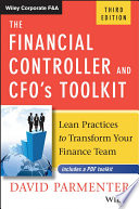 The Financial Controller And Cfo S Toolkit