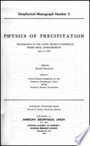 Physics of Precipitation