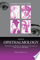 Dates in Ophthalmology