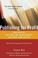 Publishing for Profit Book
