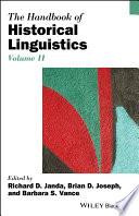 The Handbook of Historical Linguistics  Volume II