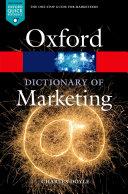 A Dictionary of Marketing