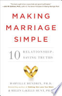 Making Marriage Simple Book