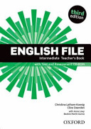 English file. Intermediate : Teacher's book [with test and assessment CD-ROM]