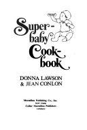 Superbaby Cookbook